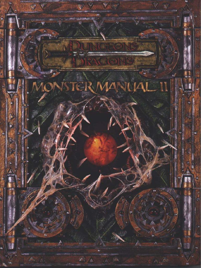 Dd 35E - Monster Manual Ii-5219
