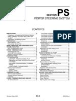 2003 Nissan Altima 2.5 Serivce Manual PS