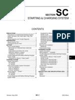 2003 Nissan Altima 2.5 Serivce Manual SC