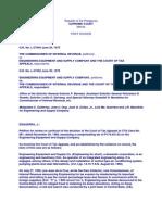 14. Commissioner of Internal Revenue vs. Engineering Equipment and Supply Company 64 SCRA vs 590 (1975)
