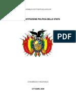 Costituzione Bolivia 2008