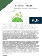 RSE y Desarrollo Sostenible