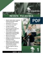 Revista Pulquimia No. 1, Mayo 2013