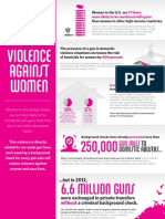 Gun Laws and Violence Against Women