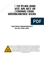 Electronic Civil Disobedience Guide