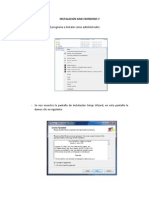 Instalacion, Configuracion Gns3 Windows 7