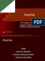 Anemia Pelatihan Kemampuan Dosen Hematologi-2009