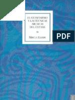 El Chamanismo y Las Tecnicas Arcaicas Del Extasis Eliade