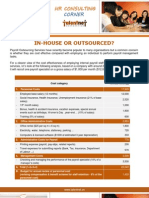 Payroll - In-House or Outsourced - Update July 2013 by Talentnet Corporation