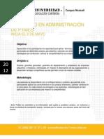 D Administracion de PYMES 2 de Mayo Del 2012