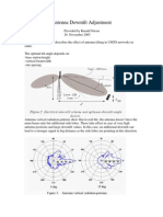 Antenna Downtilt Adjustment