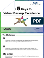 Joint Presentation Exagrid and Veeam Backup