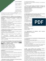 2013 Questionário de Sociologia Marx, Webwr e Durkheim 2(SENAI)