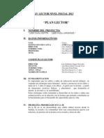 pequeños lectores- propuesta del plan lector 2012 inicial