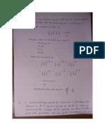 Maths Assignment-4th Semester