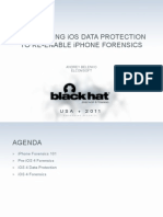 BH US 11 Belenko iOS Forensics Slides
