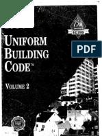 UNIFORM BUILDING CODE  - 1997 - Vol-2