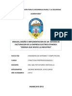 Informe de Practicas Efinergy Final