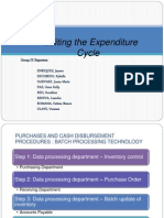 Auditing Expenditure Cycle