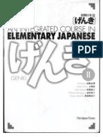 19262785 Genki II TextBook 1 of 2