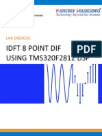 Idft 8 Point Dif Using Tms320f2812 Dsp