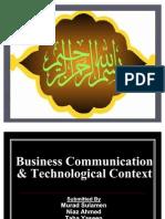 Business Communication Technological Context