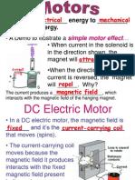 Motors Generators