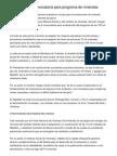 Medellín abrió convocatoria para programa de viviendas