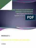 Nociones de Sist de Unidades y Electricidad Industrial