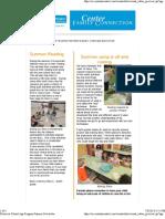 Ohu-Glenview School Age Program Summer Newsletter