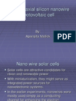 Minor Project-Silicon Nanowire Solar Cell