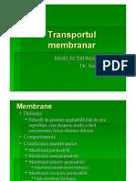 Transport Membranar