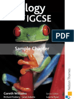 Igcse Biology Sample Chapter