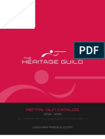 THG Rental Catalog
