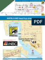 SDCC2013 Maps - Adventure Time