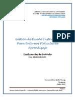 Silvia Gallo - Evalucación de Modulos Instruccionales