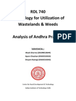 Analysis of wastelands in Andhra Pradesh