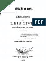 Freitas, Augusto Teixeira de. Consolidação das Leis Civis