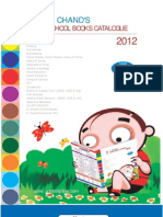 Schand School Catalogue 2012