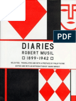 Diaries, 1899-1942 - Robert Musil