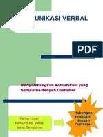 Komunikasi verbal1