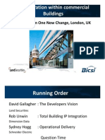 IP Integration Within Commercial Buildings