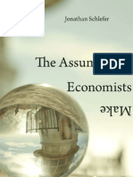 The Assumptions Economists Make