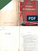 Ioan Cerghit - Metode de Invatamant