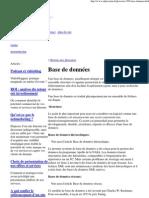 Définition _ Base de données