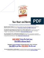 Your Heart and Nutrition -