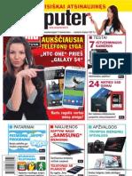 "7-8/2013 ""Computer Bild Lietuva"" – telefonų ""HTC One"" ir ""Samsung Galaxy S4"" testai"