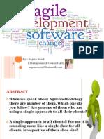 Agile Methodology in Software development