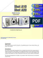 Service Manual PowerShot A10 A20