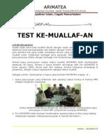 Makalah Test Ke Muallaf An